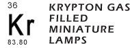 All Miniature Krypton Lamps