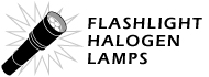 All Halogen Lamps for Flashlights