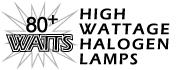 All High Wattage Halogen Lamps
