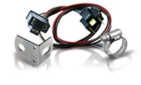 Wire Harnesses, Sockets, Brackets, and Hose Clamps