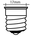 All Intermediate Screw (E17) Base Bulbs