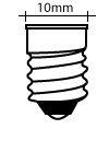 All Miniature Screw (E10) Base Bulbs
