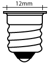 All Candelabra Screw (E12) Base Bulbs